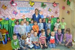 Spotkanie autorskie w przedszkolu - Eliza Piotrowska