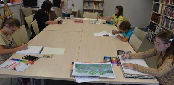 Ruszyły zajęcia Rysunek i malarstwo